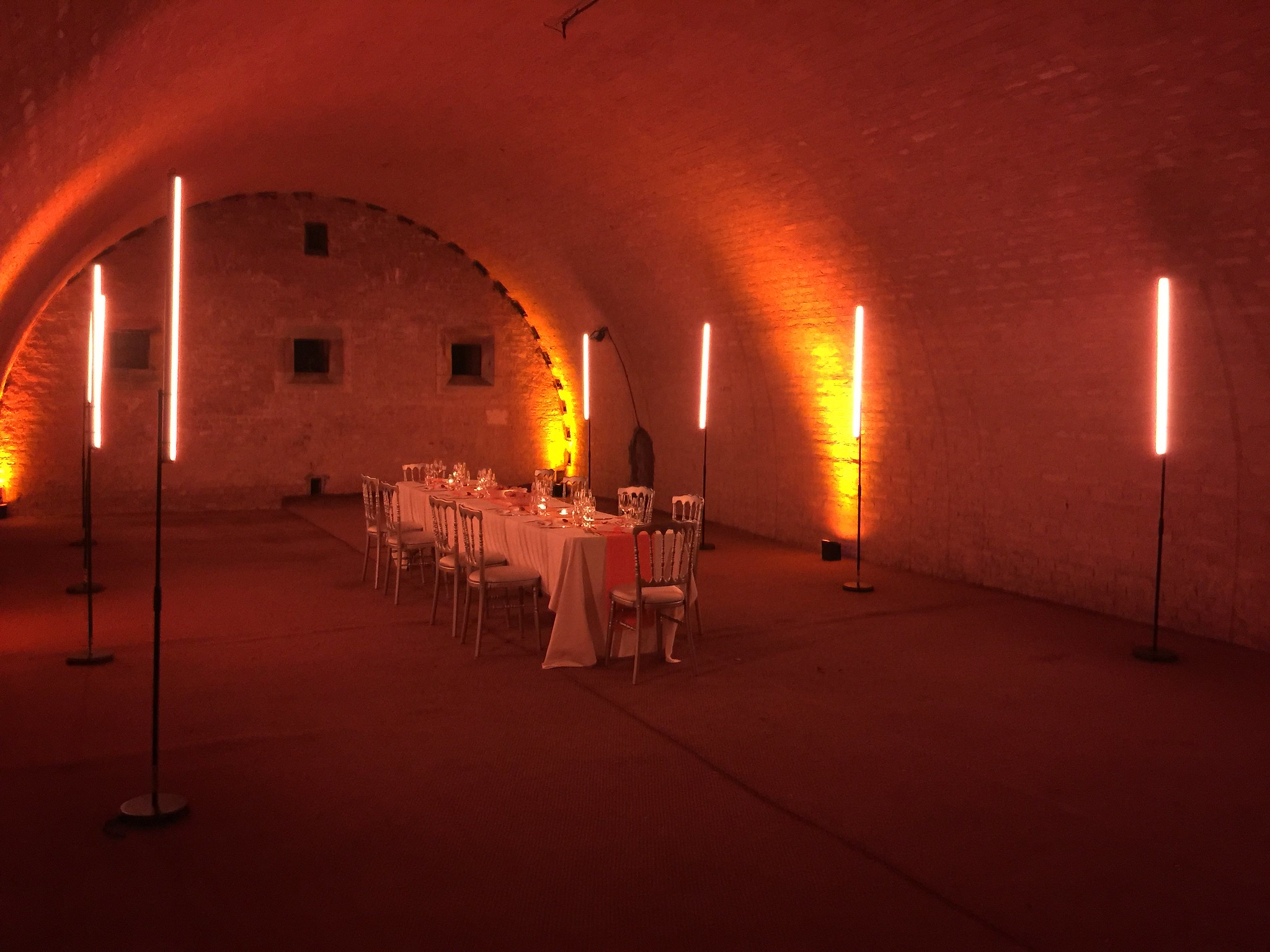 Military-themed dinner in a fortress in Strasbourg