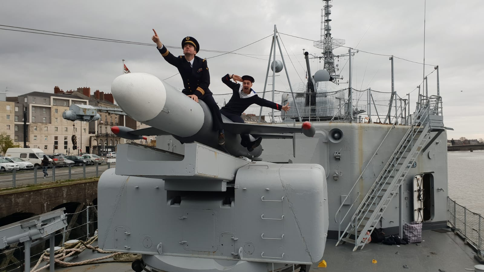 Murder Mystery Dinner Party on a war ship in Nantes
