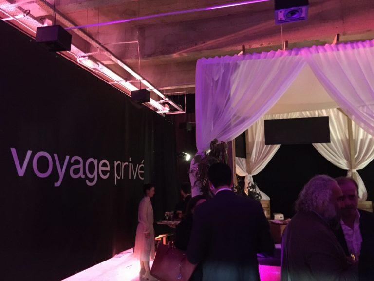 soiree corporate grand rivage cité de la mode et du design paris France 10 ans Voyage Privé agence wato we are the oracle evenementiel event