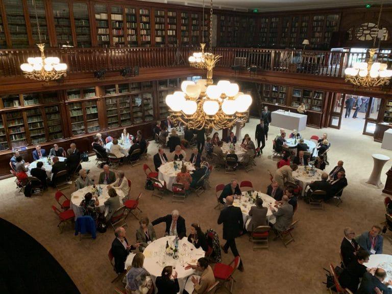 Bibliothèque Clément-Bayard déjeuner prestigieux vip Mount Vernon Ladies' Association automobile club de france paris usa agence wato evenementiel