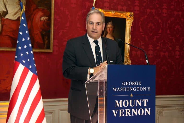 Doug bradburn CEO mount vernon discour speech pitch salon du prince hotel de soubises hotel particulier paris seminaire usa agence wato evenementiel