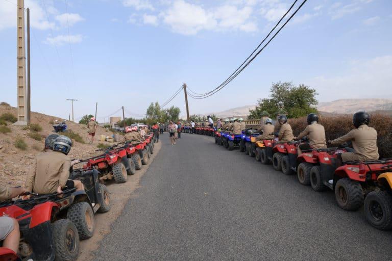 randonnee en quad desert costumes explorateur voyage incentive team building voyage agence wato evenementiel event taleo cinq ans the tatane project marrakech maroc maghreb