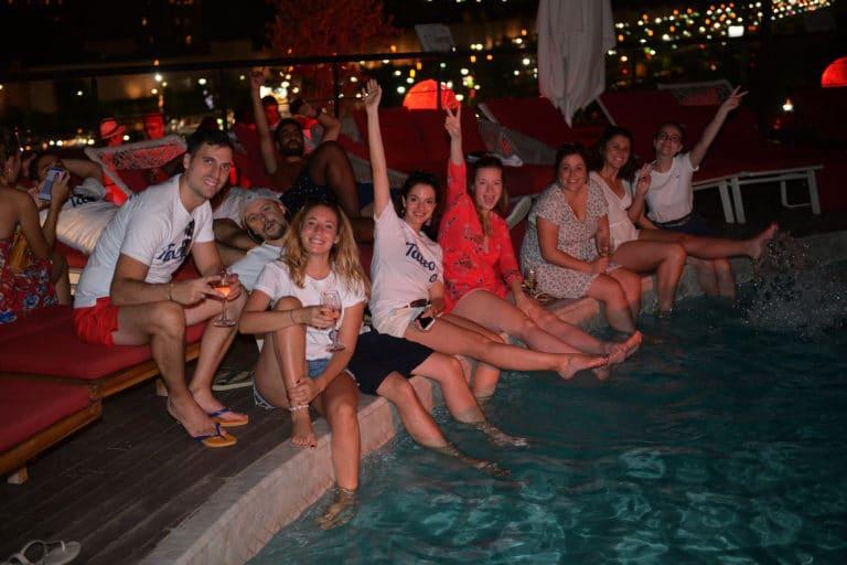 pieds dans eau soleil voyage incentive team building voyage agence wato evenementiel event taleo cinq ans the tatane project marrakech maroc maghreb