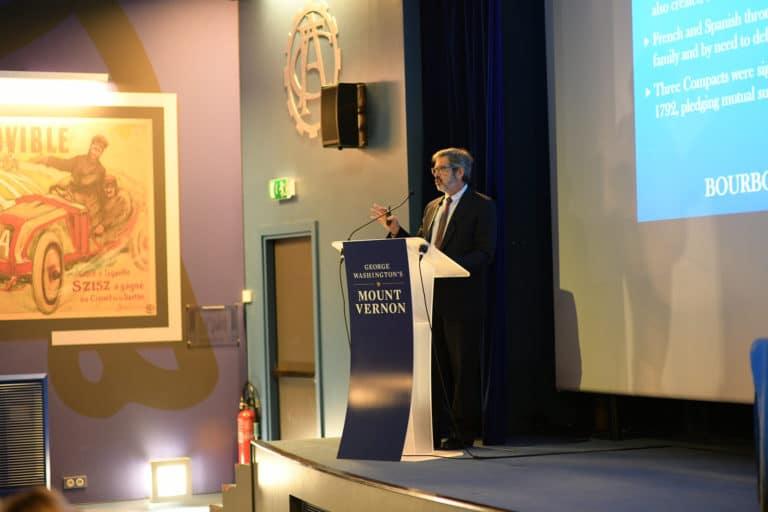 auditorium michelin speech discours discours Mount Vernon Ladies Association automobile club de france paris usa agence wato evenementiel event