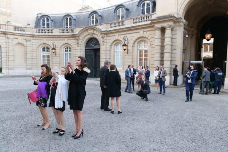 cour interieure hotel de pontalba interieur lampadaire paris privé residence ambassadeur des etats unis agence wato evenementiel we are the oracle event