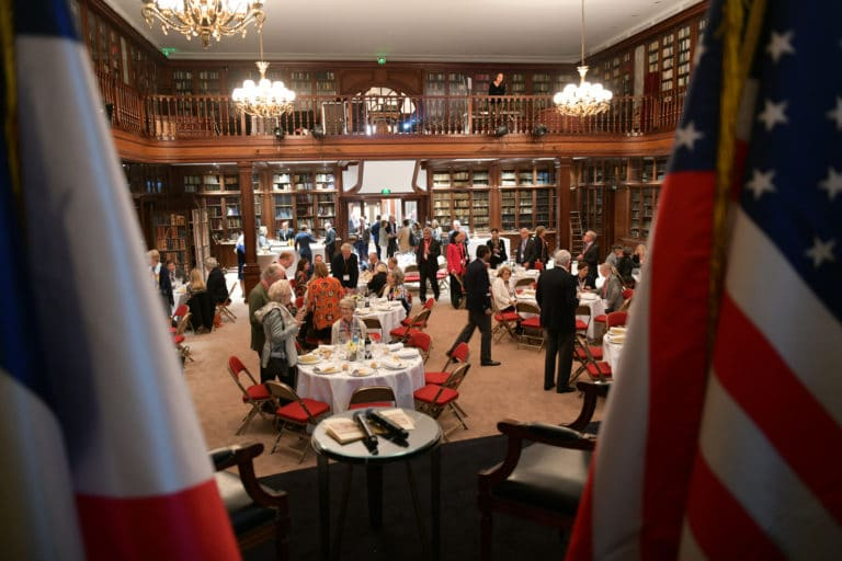 déjeuner prestigieux vip Bibliothèque Clément-Bayard Mount Vernon Ladies' Association automobile club de france paris usa agence wato evenementiel