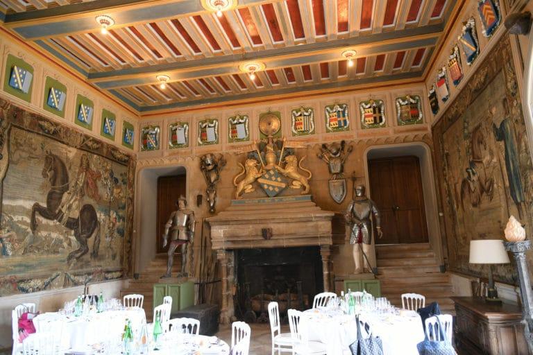 dejeuner conference chateau de chastellux chastellux sur cure hyonne bourgogne franche comté france mount vernon agence wato we are the oracle evenementiel event
