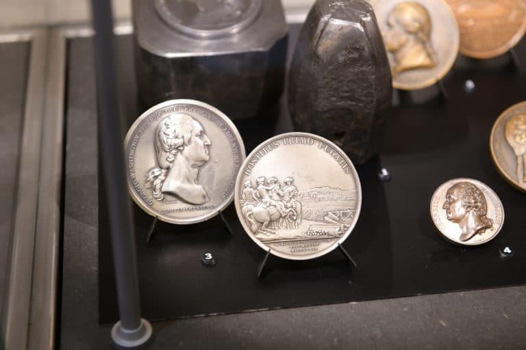 inedit collection pieces de monnaie argent Monnaie de paris france george washington mount vernon usa agence wato evenementiel we are the oracle