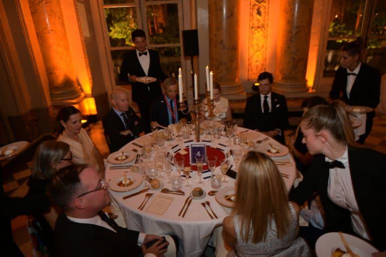 salon dupré diner de gala Monnaie de paris france table ll concept george washington mount vernon usa agence wato evenementiel we are the oracle event