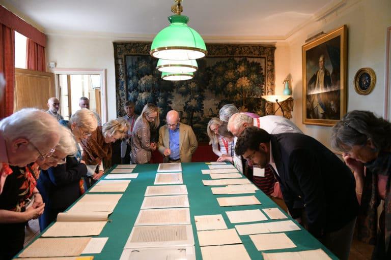 lucy le bois archives de françois jean de chastellux documents chateau de chastellux bourgogne france mount vernon agence wato we are the oracle evenementiel event