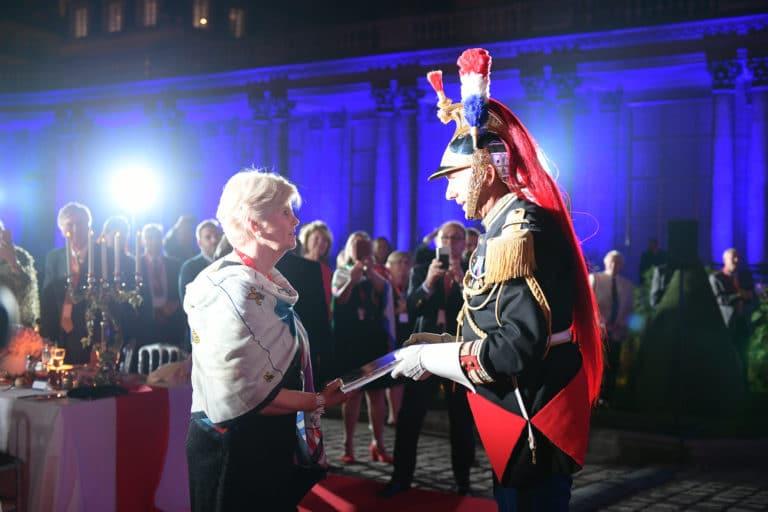 capitaine jacques leblay fanfare à cheval garde republicaine ladies of mount vernon hotel de soubises particulier paris cours honneur diner agence wato evenementiel