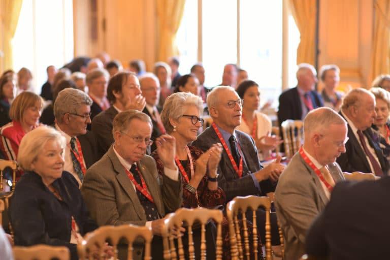 salon foch Cercle de l'union interalliée paris france conference discour speech vip george washington mount vernon agence wato we are the oracle evenementiel event