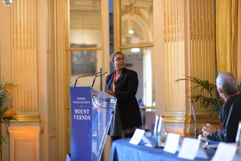 salon foch Cercle de l'union interalliée conference discour speech vip george washington mount vernon agence wato we are the oracle evenementiel event