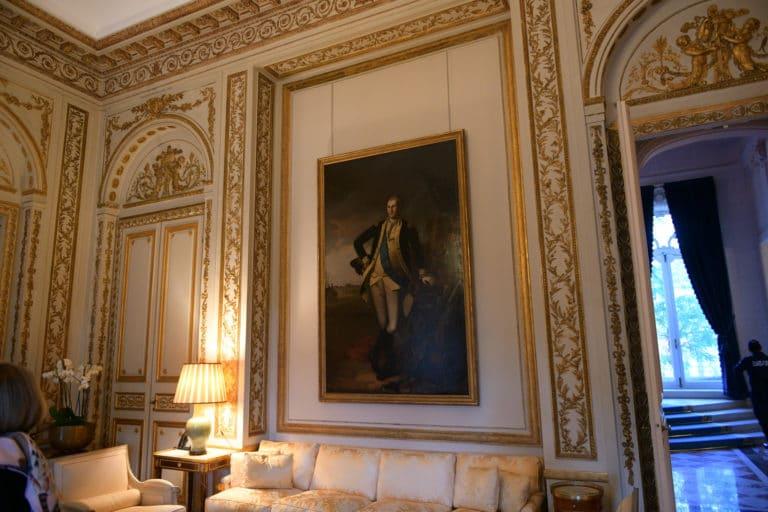 salon privé tableau hotel de pontalba residence ambassadeur des etats unis en france ladies of mount vernon paris agence wato we are the oracle