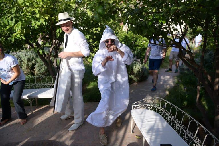 vincent gaeta louis marie rohr agence wato evenementiel taleo cinq ans the tatane project jardin secret marrakech maroc