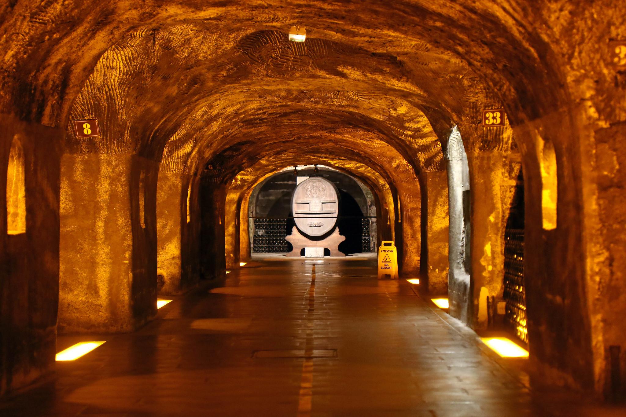 Mount Vernon : Visite des caves Moët & Chandon à Reims