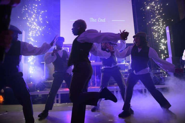 dc vortex danseurs hip hop soiree ecozone habitat evenementiel theme peaky blinders la chaufferie lille agence wato