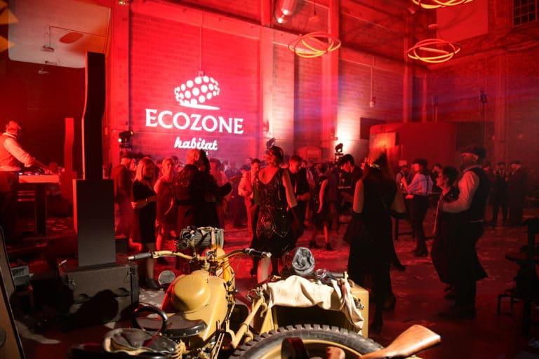 gobo moto soiree ecozone habitat evenementiel theme peaky blinders maison close dollars la chaufferie lille agence wato