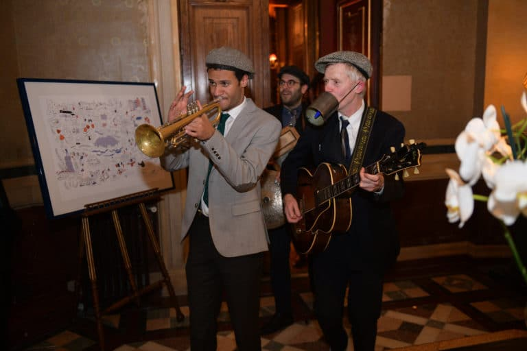 trompette groupe de musique gruitare end of phd iris de rode travellers club agence wato evenementiel events
