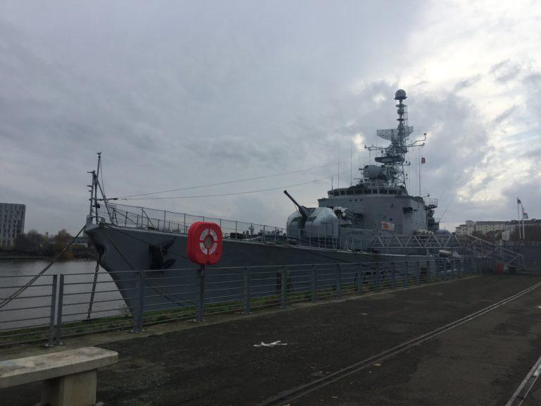 immersion navire de guerre marine nationale t47 mailé-brézé meutre marin bateau diner d exception leboncoin agence wato evenementiel events