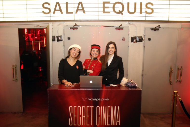 borne accueil soiree voyage prive evenementiel ouvreuses hotesses madrid agence wato
