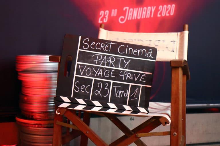 clap siege de realisateur soiree voyage prive evenementiel clap theme cinema vintage madrid agence wato
