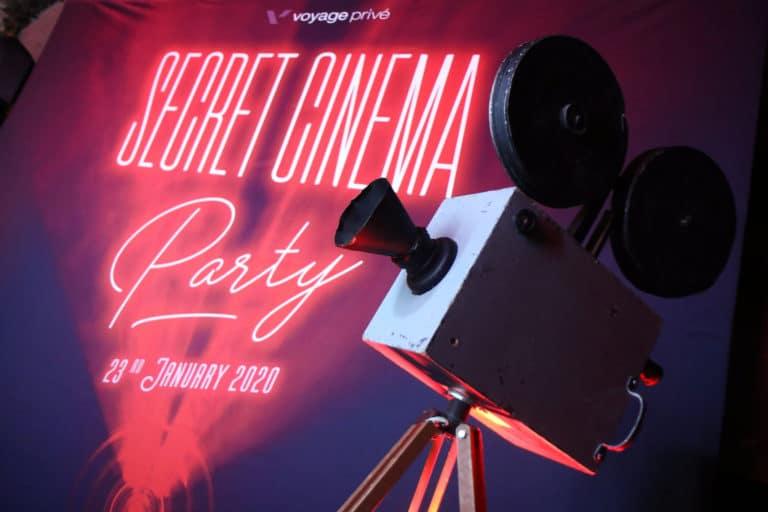 soiree voyage prive evenementiel theme cinema vintage madrid agence wato