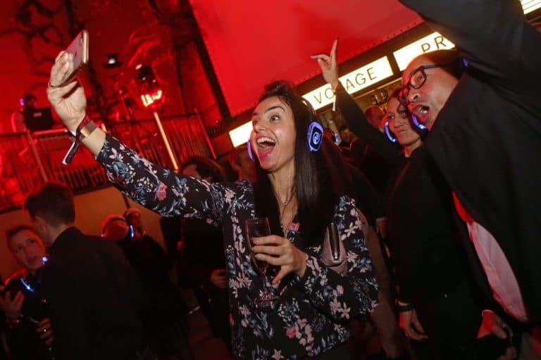 wato we are the oracle voyage prive fitur madrid sala equis silent disco selfie soiree