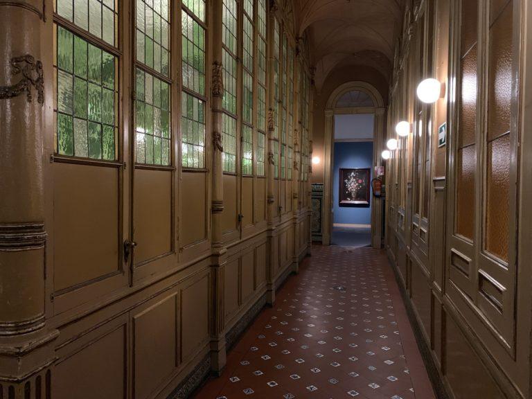 Couloir mysterieux du Palacio Gaviria Madrid Espagne