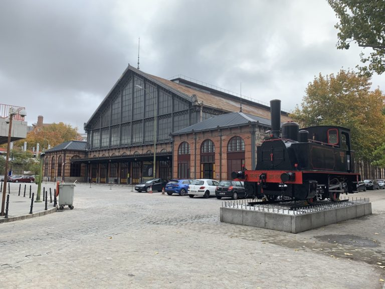 Exterieur museo del ferrocarril madrid Espagne