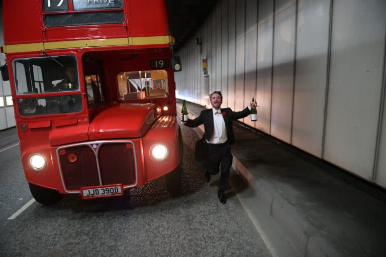 Foulques-Jubert-agence-WATO-parisian-party-designer-double-decker-bus-london-champagne-tunnel
