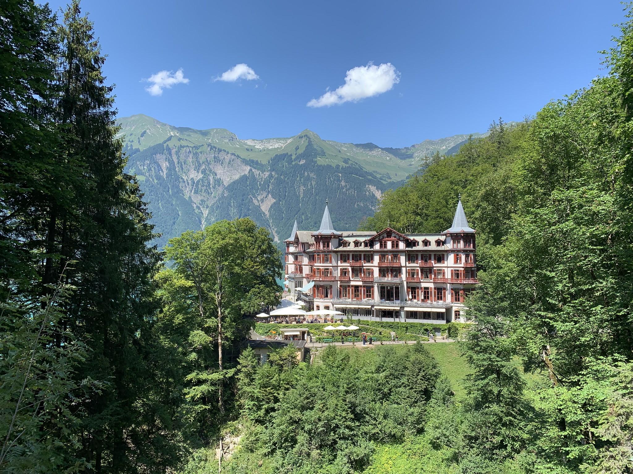 Chasse de lieux dans les Alpes, Suisse