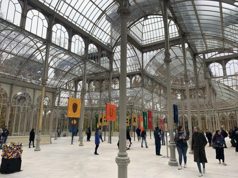 Intérieur Palacio de Cristal lieu evenementiel madrid