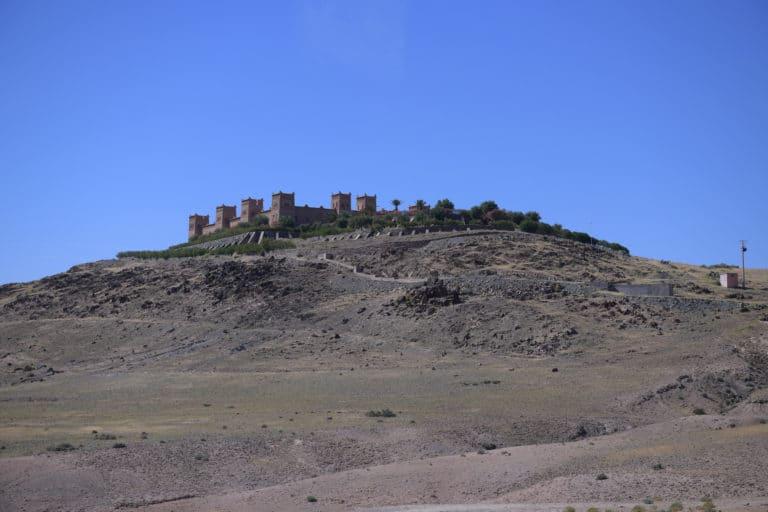Kasbah oumnass marrakech maroc