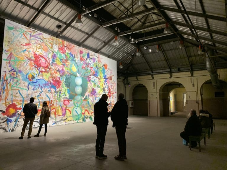 La Tabacalera de Lavapies Street art Madrid espace art contemporain Espagne