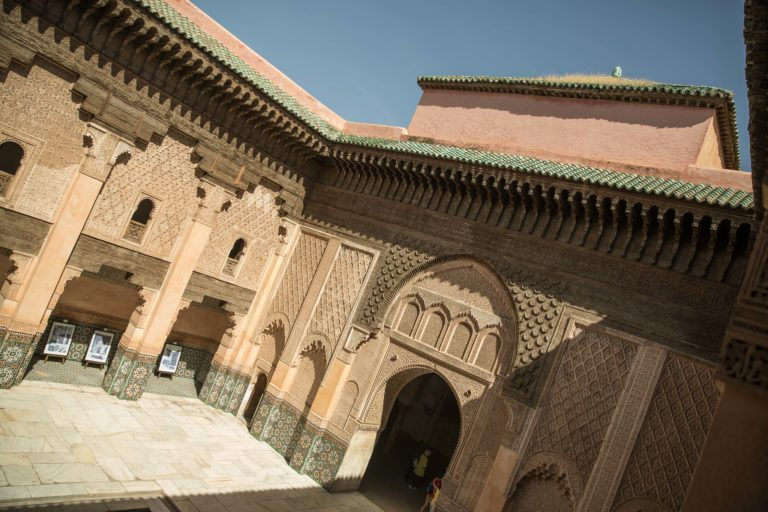 Medersa Ben Youssef ancienne ecole corannique marrakech maroc