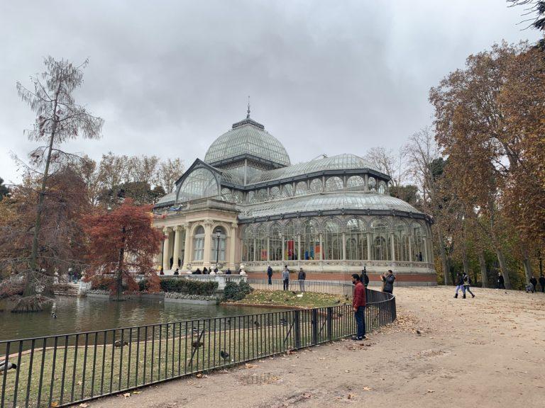 Palacio de Cristal Madrid lieu evenementiel de luxe Madrid Espagne