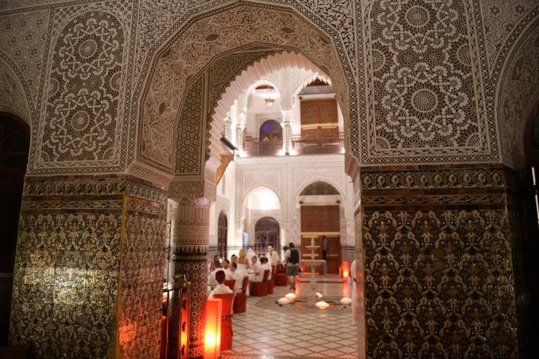 Palais Gharnata zoom details decoration marrakech maroc