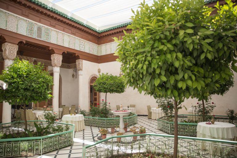 Riad dar tim tam patio jardin medina marrakech maroc