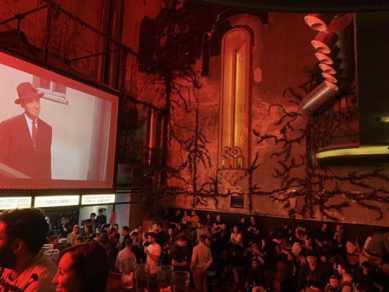Sala equis antiguo cinema X Madrid Espana
