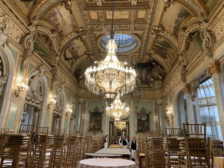 Salon Real Casino de Madrid lieu evenementiel spectaculaire Madrid Espagne