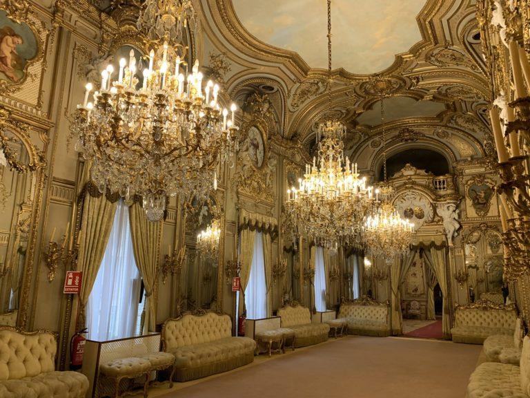 Salon del Baile Palacio Fernan Nunez lieu evenementiel elegant Madrid Espagne