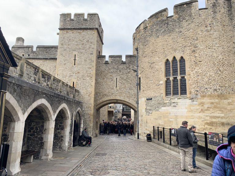 Wakefield tower tour de londres forteresse medievale tower hill london royaume uni