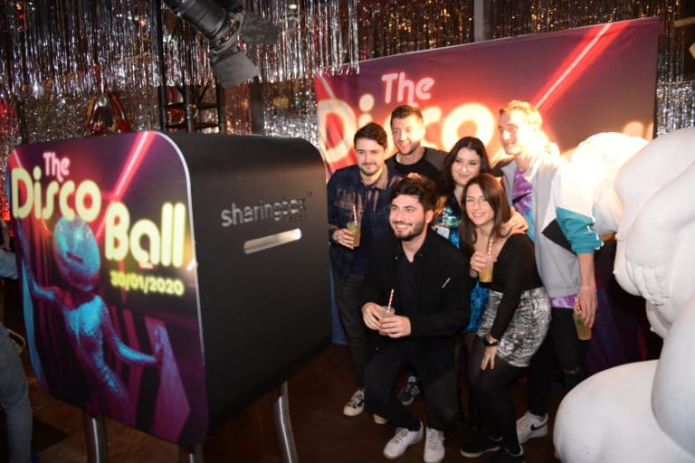 amazon disco ball wato we are the oracle soiree paris evenementiel dock b photocall photoborne