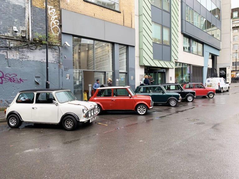 austin-mini-rally- corporate events-london-uk