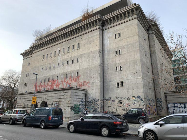 bunker massif berlin facade beton boros collection Reichsbahnbunker