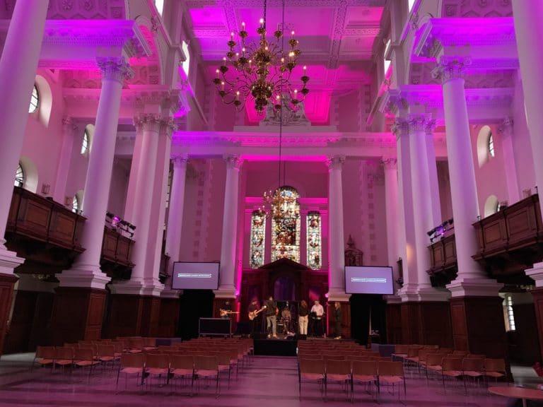 christ church and handbury hall venue hire london uk