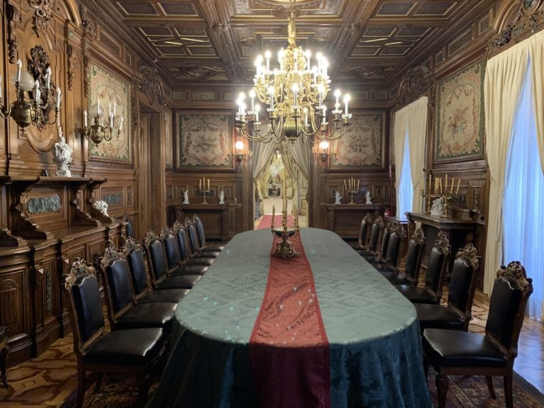 comedor de gala palacio fernan nunez madrid lieu evenementiel elegant madrid