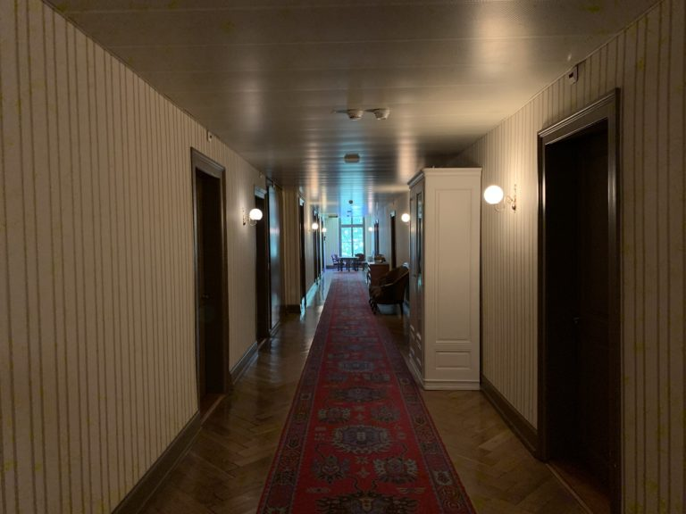 couloir mysterieux grandhotel giessbach brienz suisse