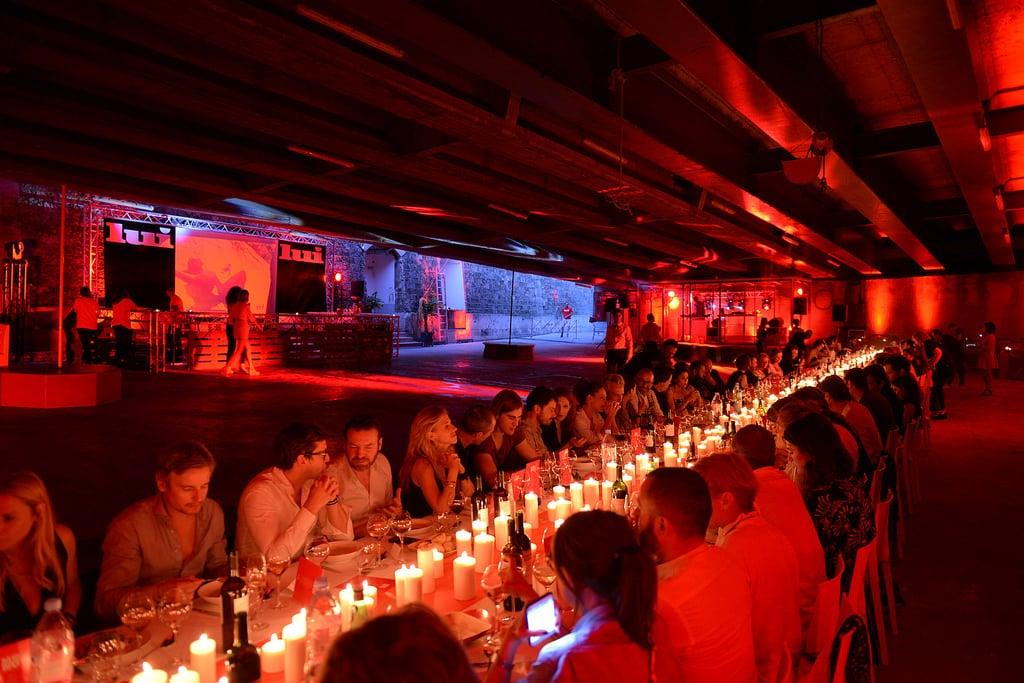 A spectacular summer dinner for LUI magazine
